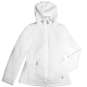LAUNDRY Shelli Segal Quilted Coat Large NWT